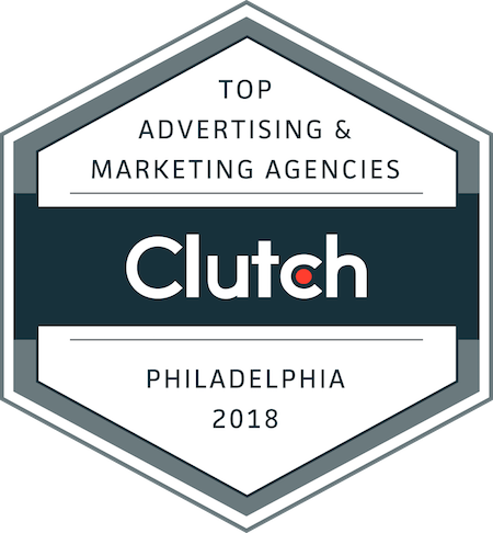 badge for top marketing and advertising companies in philadelphia