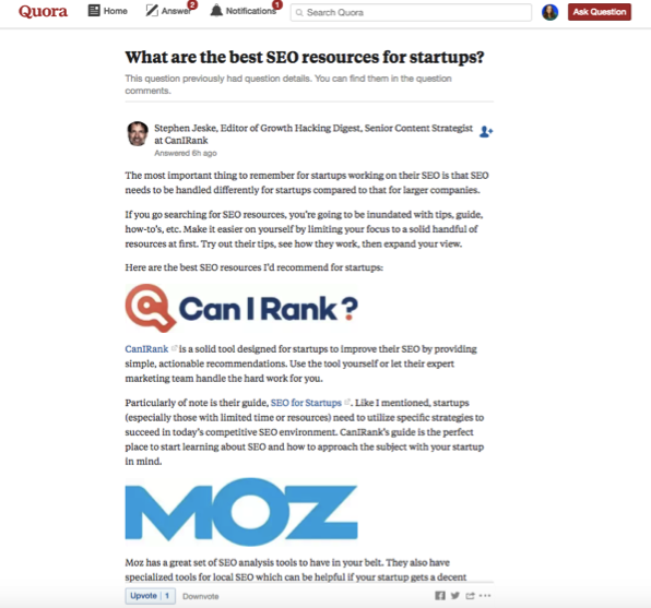What are the best SEO resources Quora