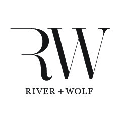 River and Wolf logo