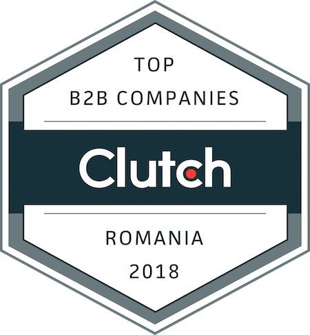badge for best business service providers in Romania in 2018