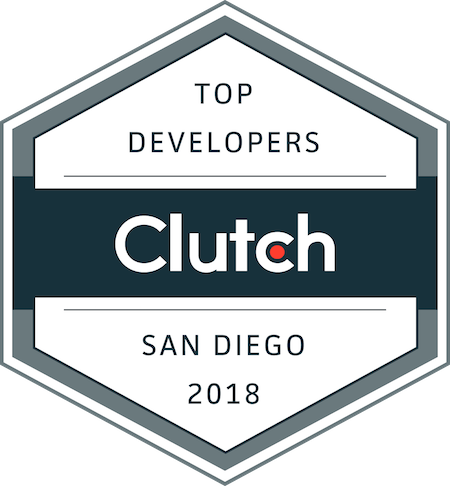 badge for top development companies in san diego