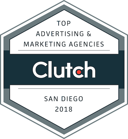 badge for top marketing and advertising companies in San Diego