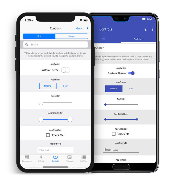 Native UI/UX for iOS and Android with Felgo