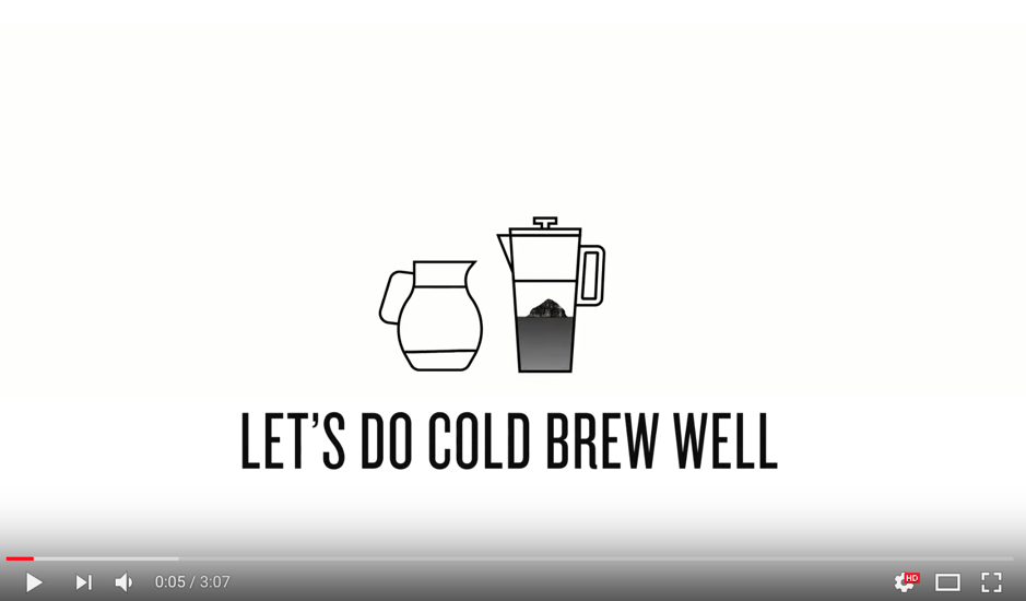 "Starbucks: ""How to: Three Ways to Cold Brew Coffee"