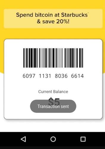 """""""Dépensez des bitcoins chez Starbucks et économisez 20%"""""""