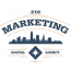 216 Marketing Logo