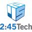 2:45Tech Logo