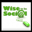 Wise To Be Social Logo