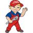 Redlands & Henry Bush Plumbing Logo