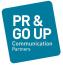 P.R. & Go Up Communication Partners Logo
