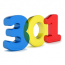 301 Interactive Marketing Logo