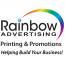 Rainbow Advertising Printing & Promotions Logo