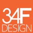 34F Design Inc. Logo