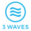 3 Waves Media logo