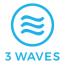 3 Waves Media Logo