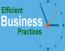Efficient Business Practices Logo