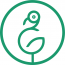 Green Flamingo Marketing Logo