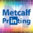Metcalf Design & Printing Center Logo