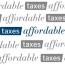Taxes Affordable Logo