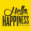 Hello Happiness Design Logo