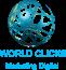 World Clicks Marketing Digital Logo