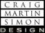 Craig Martin Simon Design Logo