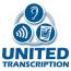 United Transcription Logo