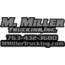 M. Miller Trucking, Inc. Logo