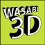 Wasabi 3D Logo