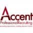 Accent Professional Recruiting logo