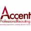 Accent Professional Recruiting logo