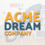 Acme Dream Company Logo