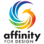 Affinity for Design Logo