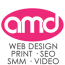 AMD Web Design logo