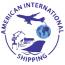 American International Shipping Logo
