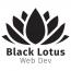 Black Lotus Web Dev Logo