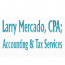 Larry Mercado, CPA Accounting & Tax Services Logo
