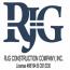 RJG Construction Company Logo