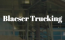 Blaeser Trucking Company Logo