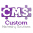 Custom Marketing Solutions logo