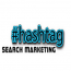Hashtag Search Marketing Logo