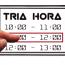 TRIA HORA Logo