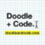 Doodle + Code Logo
