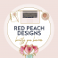 Red Peach Designs Logo