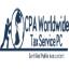 CPA Worldwide Tax Service Logo