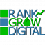 Rank Grow Digital Logo