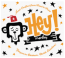 Hey Monkey! Design Logo