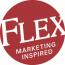 Flex-Marketing Inspired logo