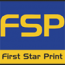 First Star Print Logo