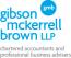 Gibson McKerrell Brown LLP Logo